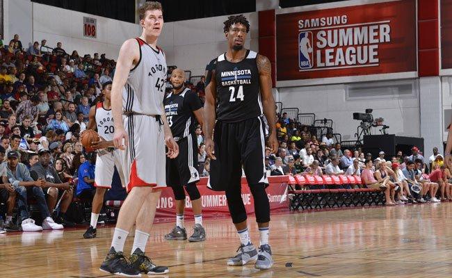 Der Wiener Jakob Pöltl spielt für die Toronto Raptors in der NBA