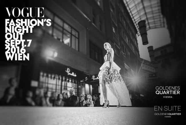 VOGUE Fashion's Night Out am 7. September in Wien.