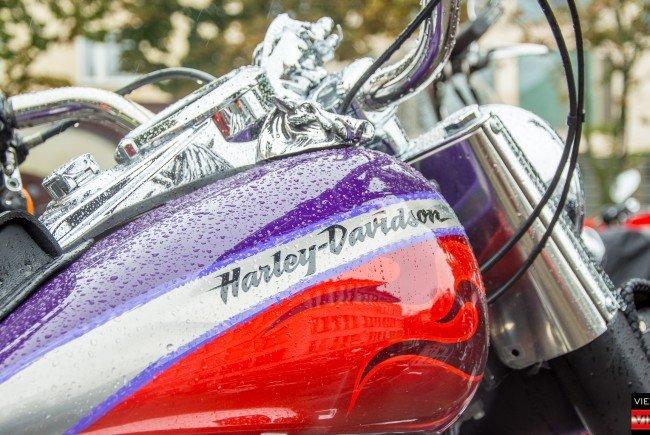 Bei der Harley Davidson Charity Tour 2016.