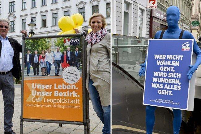 ÖVP und Grüne beginnen den Wahlkampf in der Leopoldstadt