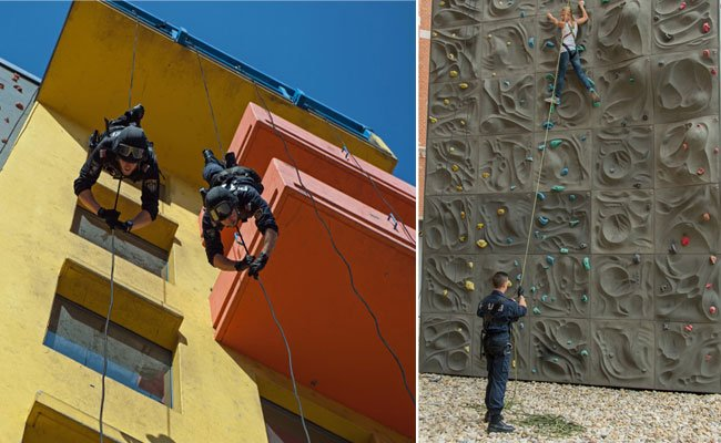 Beim Wiener Ferienspiel steht alles im Zeichen des Kletterns