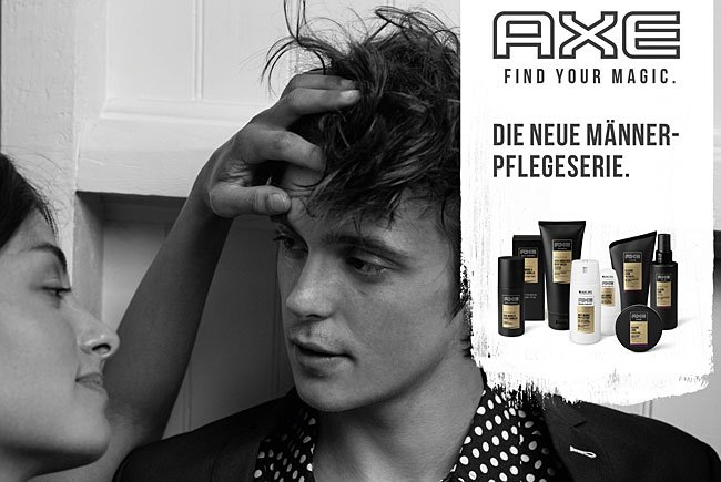 "Die AXE Kampagne steht unter dem Motto ""Find Your Magic"""