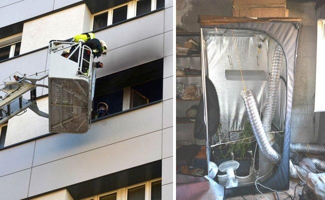 Polizei- und Feuerwehreinsatz in der Leopoldstadt.
