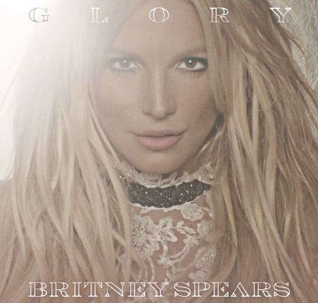 "Britney Spears mit ""Glory"" - ab 26. August im Handel."
