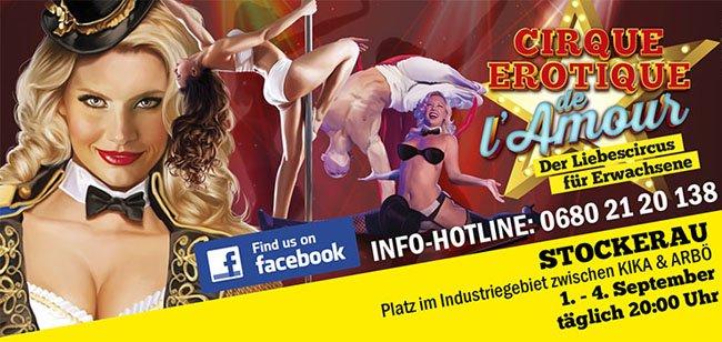 Der erste Liebeszirkus in Österreich.