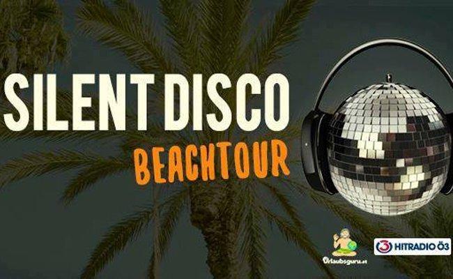 Die Silent Disco Beach Tour macht Halt in der Strandbar Herrmann.