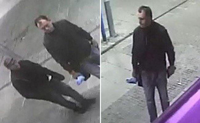 Die Polizei sucht nach diesen Verdächtigen.