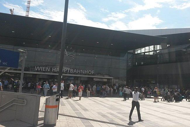 Die Drohungen richteten sich unter anderem gegen den Wiener Hauptbahnhof