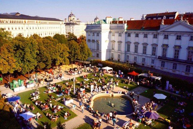 """Am 10. und 11. September findet das """"in the park""""-Fest statt."""