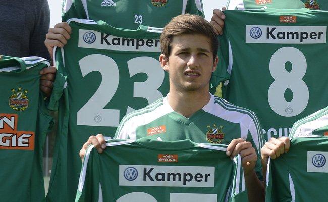 Rapids Andreas Kuen wird zum FAC in die Erste Liga verliehen.