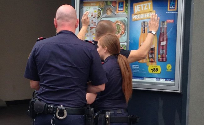 Der Mann wurde auf der MaHü festgenommen.