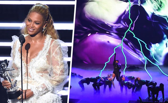 Sängerin Beyoncé sicherte sich gleich acht der begehrten MTV Video Music Awards.