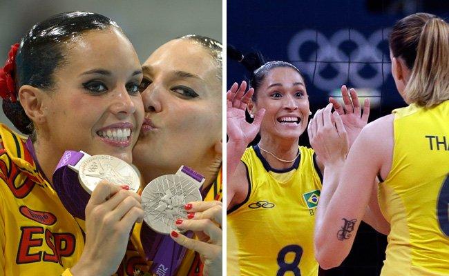 Die hübschesten Sportlerinnen bei Olympia 2016.