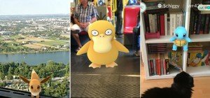 VIENNA.at-User auf Pokémon-Jagd