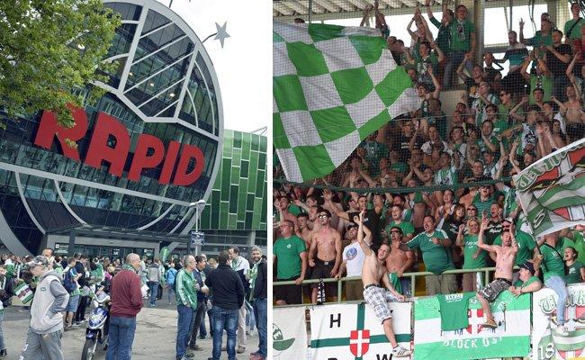 Rapid will die Erfolgsserie im Allianz-Stadion ausbauen.