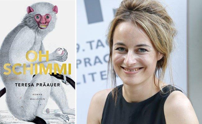 Die Autorin Teresa Präauer nahm heuer an den Tagen der deutschsprachigen Literatur teil