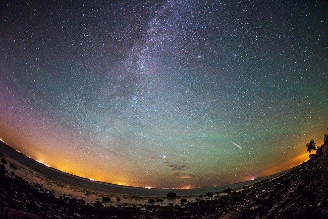 Der Sternschnuppenstrom der Perseiden erreicht am 12. August seinen Höhepunkt