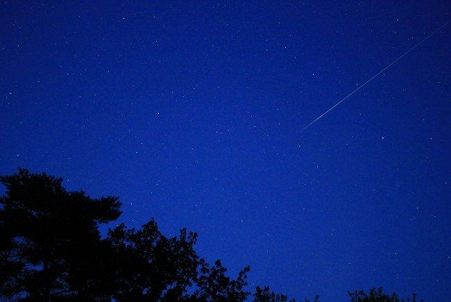 Das Himmelsschauspiel erreicht in den Nächten auf 12. und 13. August seinen Höhepunkt