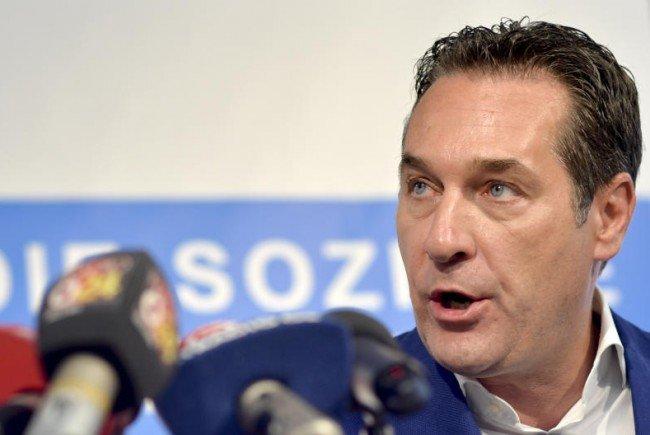 Strache nimmt zu den Kurden-Demos in Wien Stellung.