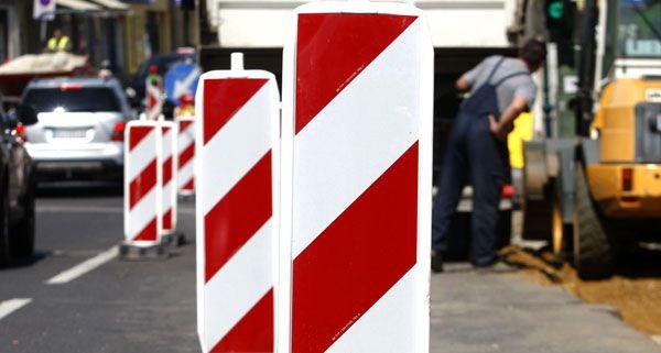 Straßenbauarbeiten über das lange Wochenende.