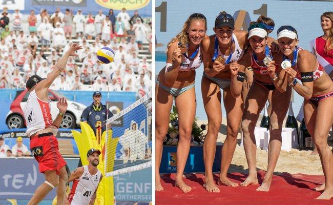 Das Beachvolleyball-Turnier von Klagenfurt ging am Sonntag zu Ende.