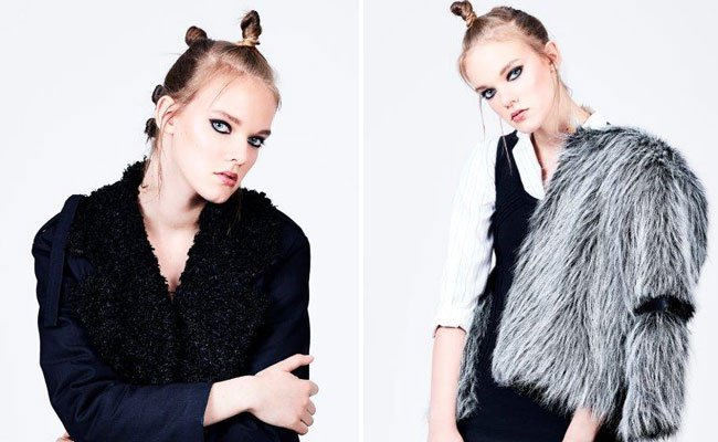 Das junge Wiener Modelabel VIS A VIS auf der Vienna Fashion Week.