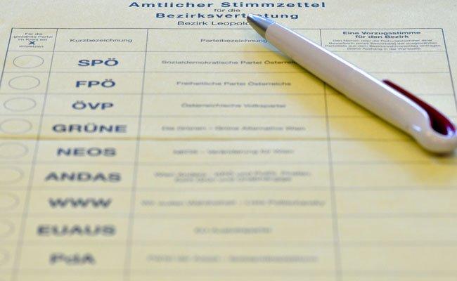 Die Bewohner der Leopoldstadt müssen am 18. September noch einmal wählen.