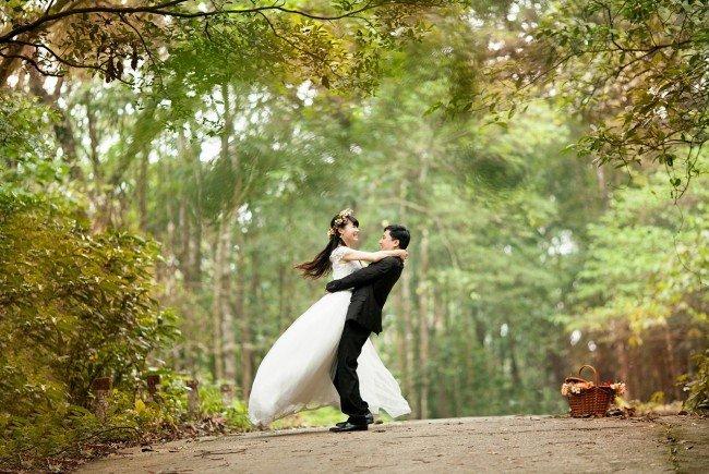 Bei Hochzeiten passieren scheinbar regelmäßig Hoppalas.