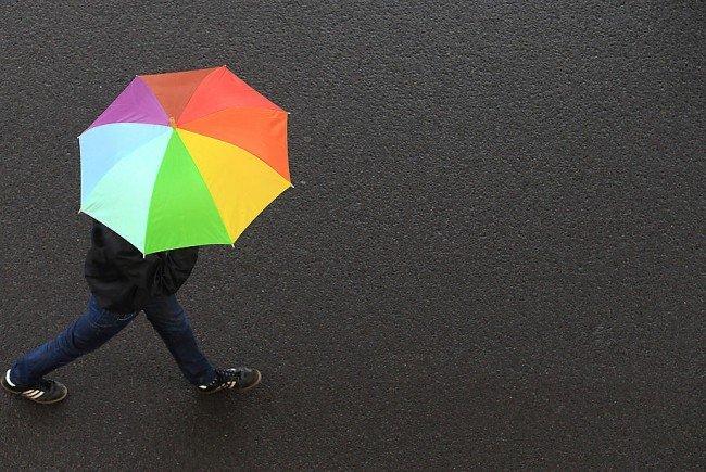 Am Wochenende ist in Österreich mit Niederschlag zu rechnen.