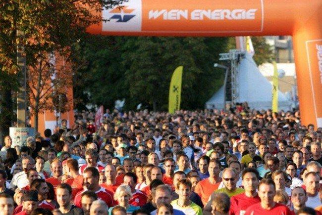 Auch heuer sind wieder viele Läufer mit dabei.