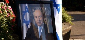 Abschied von Shimon Peres: Sarg vor dem Parlament aufgebahrt