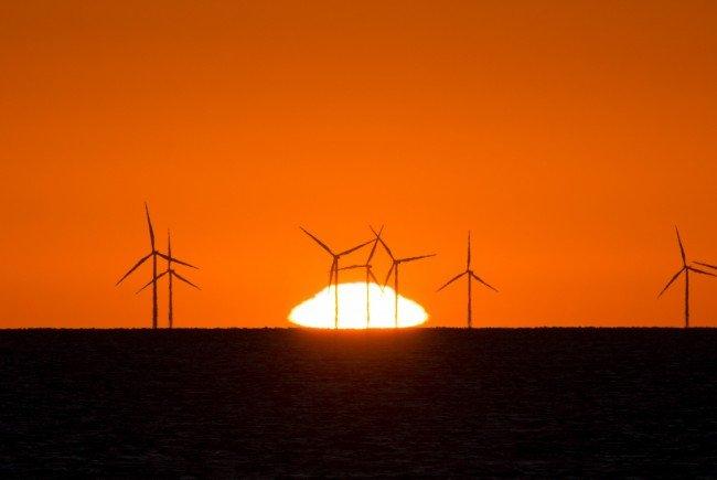 Windkraftwerk mit Bürgerbeteiligung.