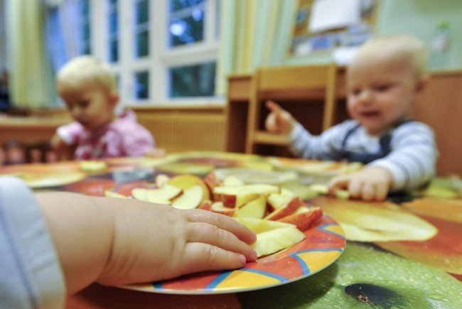 """Angeblich werden keine Kinder der """"Alt-Wien""""-Kindergärten auf der Straße stehen."""