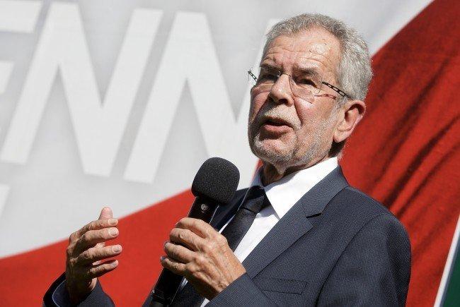 Präsidentschaftskandidat Alexander Van der Bellen darf sich über Unterstützung aus Vorarlberg freuen.