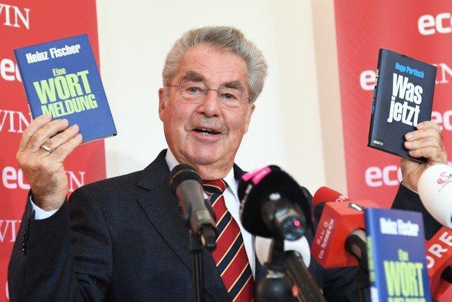 """""""Eine Wortmeldung"""": Fischer präsentierte seinen Essay in Wien"""