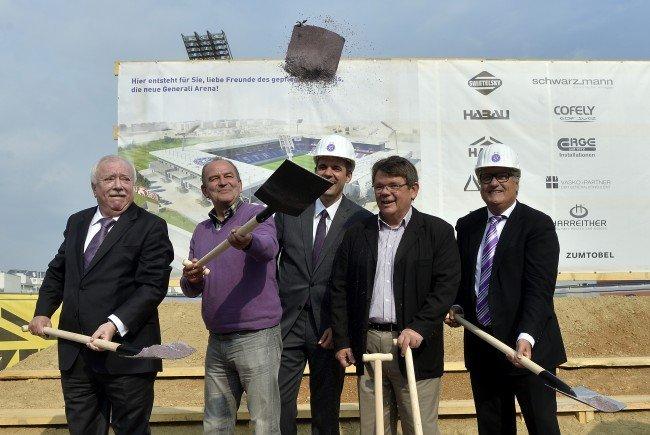 Die Austria baut ihr Stadion neu.