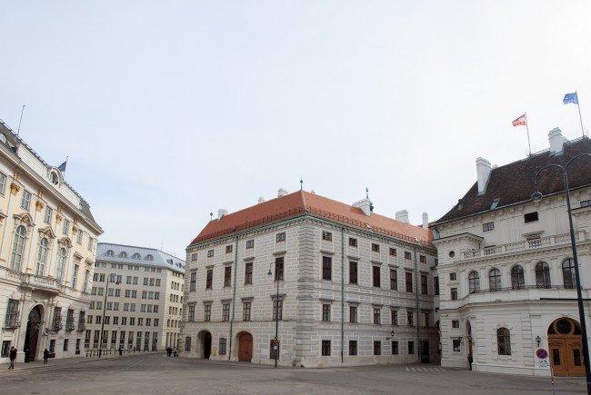 Die Mittelmeerstaaten-Konferenz findet in der Wiener Hofburg statt.
