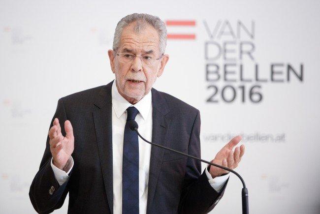 Der grüne Präsidentschaftskandidat Alexander Van der Bellen.