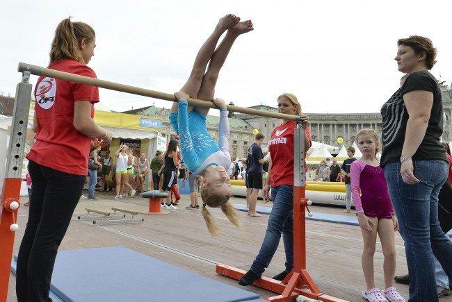 """Der """"Tag des Sports! übersiedelt in den Wiener Prater."""