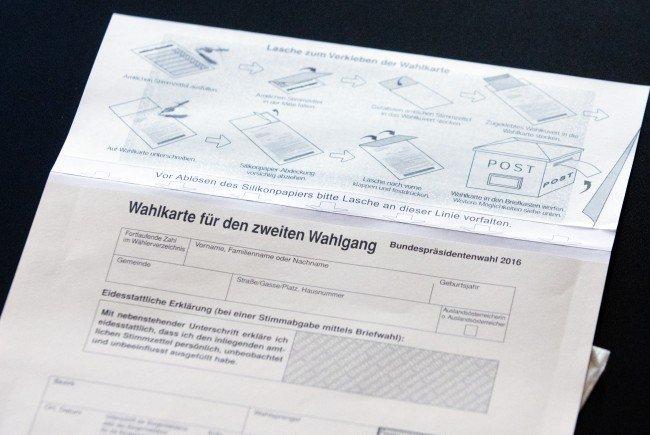 In Floridsdorf wurde in eine Zweigstelle der Wahlkarten-Druckerei eingebrochen.