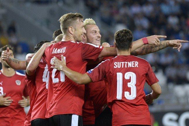 Österreich besiegt Georgien in der WM-Qualifikation.