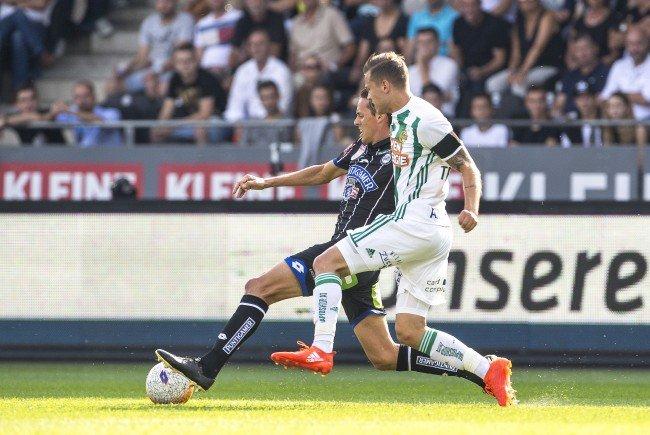 Sturm Graz bleibt nach dem 1:1 gegen Rapid Wien an der Tabellenspitze.