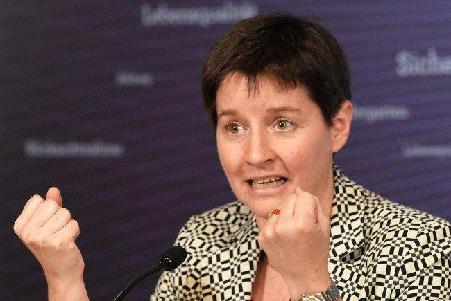 Gesundheitsstadträtin Sonja Wehsely von der SPÖ.