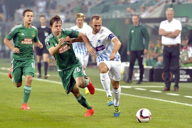 Rapid trifft im Allianz-Stadion auf Genk aus Belgien.