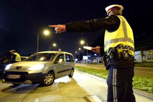 Bei einer Schwerpunktaktion erwischte die Polizei Alko- und Drogenlenker.