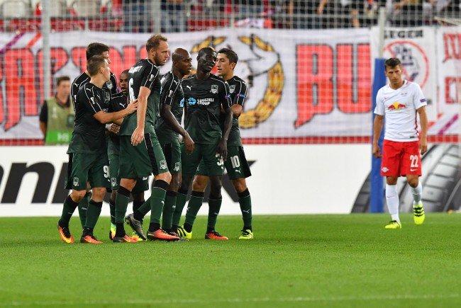Red Bull Salzburg verliert das Auftaktsspiel gegen Krasnodar in der Europa League.