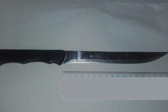 Ein 28-Jähriger bedrohte einen Lokalbesitzer mit einem Messer