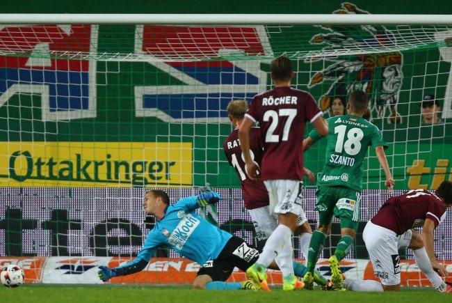 Rapid konnte sich gegen Mattersburg durchsetzen.