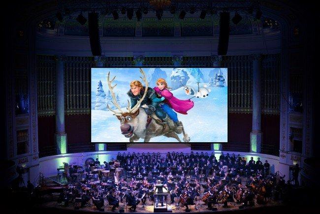 """""""Die Eiskönigin"""" bzw. """"Frozen"""" als Live-Konzert in der Wiener Stadthalle."""