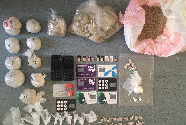 Ein 25-Jähriger wurde wegen Suchtgifthandel in Hernals festgenommen
